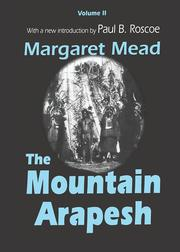 Mountain Arapesh - 1st Edition book cover