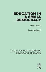 Education in a Small Democracy - 1st Edition book cover