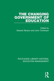 The Changing Government of Education - 1st Edition book cover
