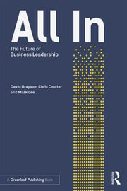 All In : The Future of Business Leadership - 1st Edition book cover
