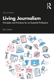 Living Journalism - 2nd Edition book cover