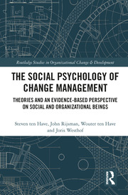 The Social Psychology of Change Management: Theories and an Evidence-Based Perspective on Social and Organizational Beings
