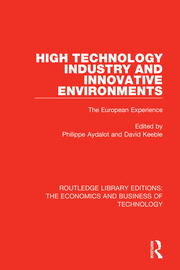 High Technology Industry and Innovative Environments - 1st Edition book cover