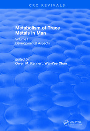 Revival: Metabolism of Trace Metals in Man Vol. I (1984) - 1st Edition book cover