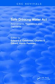 Revival: Safe Drinking Water Act (1989) - 1st Edition book cover