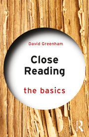 Close Reading: The Basics - 1st Edition book cover