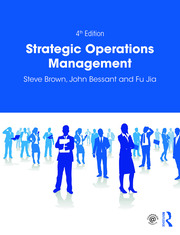 Strategic Operations Management - 4th Edition book cover