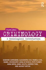 Criminology -  4th Edition book cover