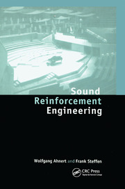 Sound Reinforcement Engineering - 1st Edition book cover