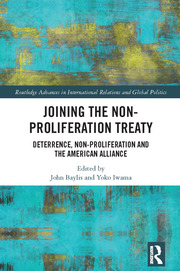 Joining the Non-Proliferation Treaty - 1st Edition book cover