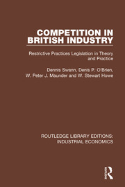 Competition in British Industry - 1st Edition book cover