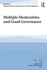 Multiple Modernities and Good Governance - 1st Edition book cover