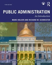Public Administration - 3rd Edition book cover