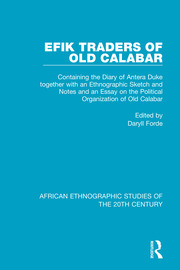 Efik Traders of Old Calabar - 1st Edition book cover
