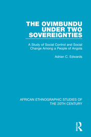 The Ovimbundu Under Two Sovereignties - 1st Edition book cover