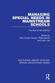 Managing Special Needs in Mainstream Schools - 1st Edition book cover