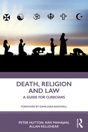 Death, Religion and Law - 1st Edition book cover