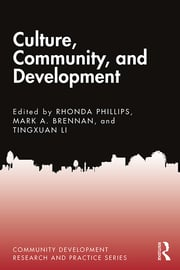Culture, Community, and Development - 1st Edition book cover