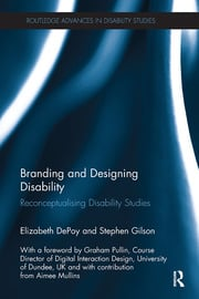 Branding and Designing Disability - 1st Edition book cover