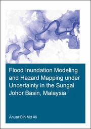 Flood Inundation Modeling and Hazard Mapping under Uncertainty in the Sungai Johor Basin, Malaysia