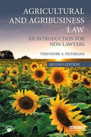 Agricultural and Agribusiness Law - 2nd Edition book cover