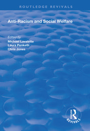 Anti-racism and Social Welfare - 1st Edition book cover