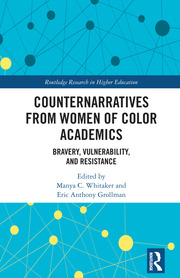 Counternarratives from Women of Color Academics - 1st Edition book cover
