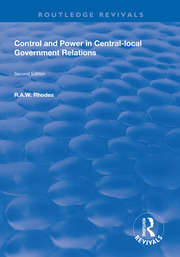 Control and Power in Central-local Government Relations - 1st Edition book cover