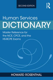 Human Services Dictionary - 2nd Edition book cover