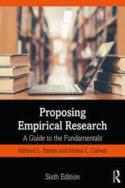 Proposing Empirical Research : A Guide to the Fundamentals - 6th Edition book cover
