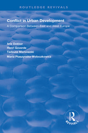 Conflict in Urban Development - 1st Edition book cover