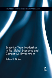 Executive Team Leadership in the Global Economic and Competitive Environment - 1st Edition book cover