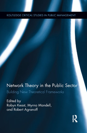 Network Theory in the Public Sector - 1st Edition book cover