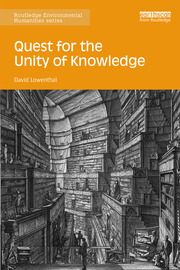 Quest for the Unity of Knowledge - 1st Edition book cover