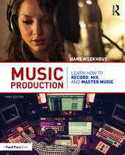 Music Production : Learn How to Record, Mix, and Master Music - 3rd Edition book cover