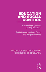 Education and Social Control - 1st Edition book cover