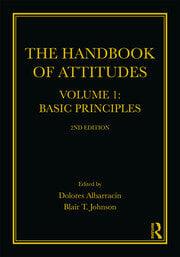 The Handbook of Attitudes, Volume 1: Basic Principles - 2nd Edition book cover