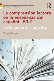 La comprensión lectora en la enseñanza del español LE/L2 - 1st Edition book cover