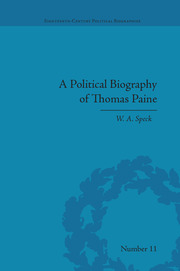 A Political Biography of Thomas Paine - 1st Edition book cover