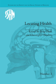 Locating Health - 1st Edition book cover
