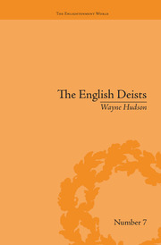 The English Deists - 1st Edition book cover