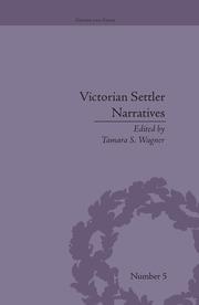 Victorian Settler Narratives - 1st Edition book cover