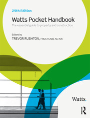 Watts Pocket Handbook - 1st Edition book cover