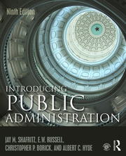 Introducing Public Administration - 9th Edition book cover