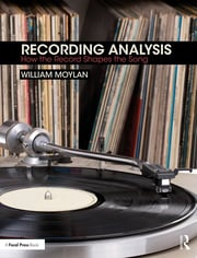 Recording Analysis -  1st Edition book cover
