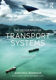 The Geography of Transport Systems - 4th Edition book cover