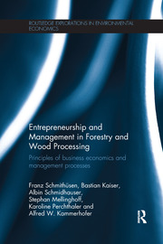 Entrepreneurship and Management in Forestry and Wood Processing: Principles of Business Economics and Management Processes