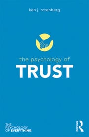 The Psychology of Trust - 1st Edition book cover