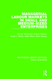 Managerial Labour Markets in Small and Medium-Sized Enterprises - 1st Edition book cover