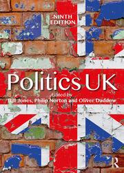Politics UK - 9th Edition book cover